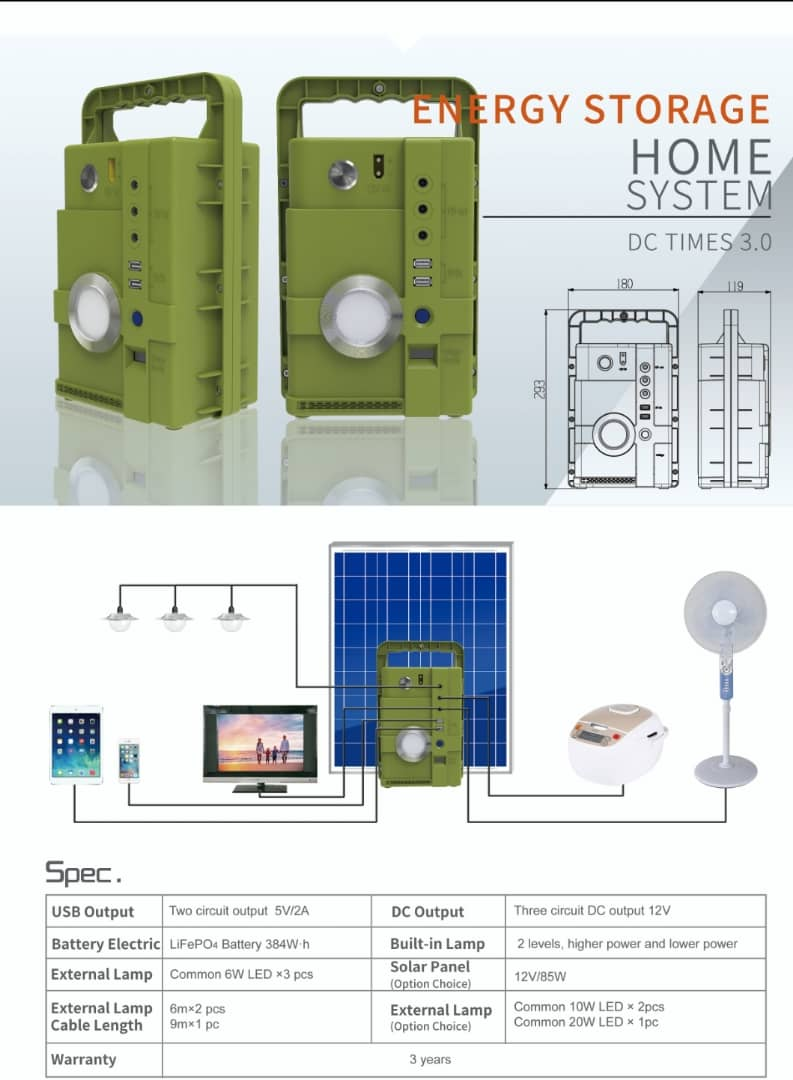 Energy Storage Home System (DC TIMES 3.0)